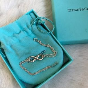 Tiffany&co Infinity Bracelet 925 Silver Medium